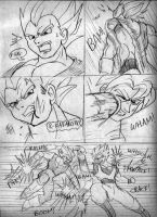 Goku vs. Vegeta Page4 by ViperXtreme