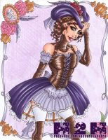 Violet Steam by Hatter2theHare