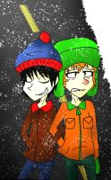 Stan and Kyle by vaness96