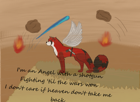 .:Angel with a shotgun:. by Zacaria-Lain