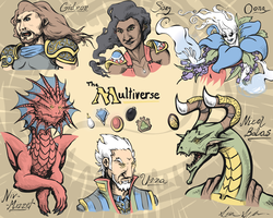 Faces of the Multiverse by haunter27