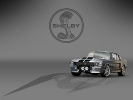 Mustang-Shelby-GT500-Eleanor by kosepa