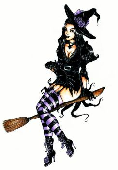 Witchy Woman by chocolatehomicide