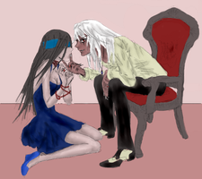 The love couple of the rp by SeleneAlucard