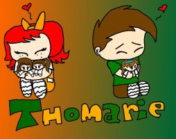 thomrie fans by tangololita