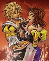 Tidus and Yuna by spyders