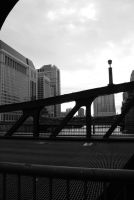 Chicago Bridge by deadrose333