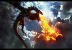 The awaking of the dragons by Tinss