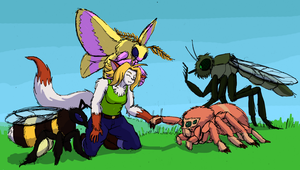 BUGS BUGS BUGS BUGS by HedgehodgeMonster