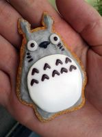Totoro cookie by CzBaterka