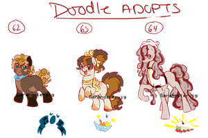 Doodle pony adopts adopts 21 CLOSED by Sarahostervig