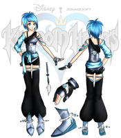 Kingdom Hearts OC: Aida Update by Kasupop