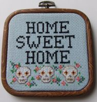 Home Sweet Home by Magasinxstitch