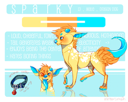 { s p a r k y } by meteorcrash