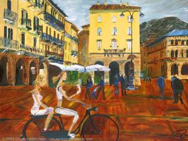 Piazza de Como by chicagoimpressionism