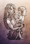 Dis and Fili by ArtByEdyn