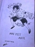 Fire Fist Ace by vedabitsaha