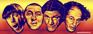 4 stooges by photoman356