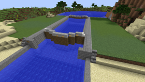 minecraft canal lock 6 by fatthoron