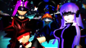 Role Playing Game! Cyber Versions. by MMDLowdisan