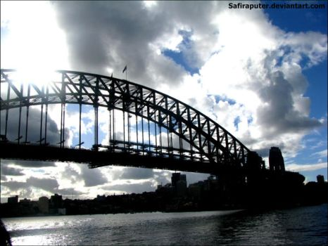 Sydney harbour by SafiraPuter