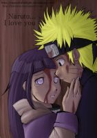 NaruHina Colouring for Zebbros by raspedratwilight