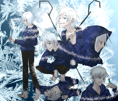Jack Frost - Doodles by Demented-Knight