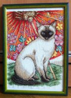 Siamese Cat by lestat1991