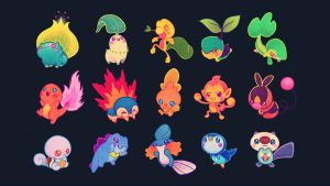 how to get kanto starters in black