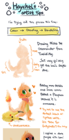 HL's Artist Tips: Misha by Haychel