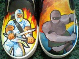 StormShadowVS.SnakeEyes shoes by Lemguin