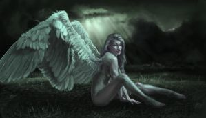 Lost angel by Mellon007
