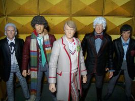 The REAL Five Doctors by DementedProductions