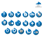 Icons pack - Drupal Flavor by emoista66