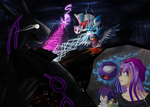 Collab Contest Entry: Defiers of Fate by Chibi-Nuffie