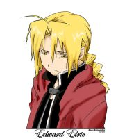 Edward Elric pose2 2005 by ateam1621