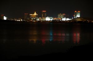 Atlantic City skyline 04 by FairieGoodMother