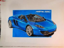 MP4-12C Spider by przemus