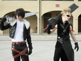 Squall And Cloud by Seyv1