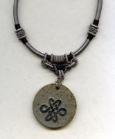Celtic knot pendant by Osa-Art-Farm