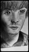 Jared Padelecki Portrait by MapleAndAnimeCrazy