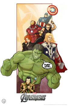 The Avengers by AndrewKwan