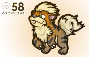058 - GROWLITHE - GSEAR by Khanohre