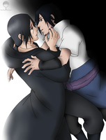 Itachi and Sasuke - Never Too Late by MSU82