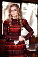 Russian lady III by AlexanderLoginov