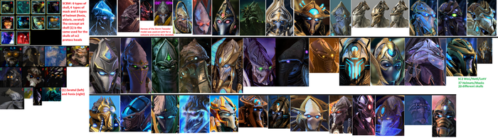 StarCraft 2 has more unique faces compared to SCBW by DefilerRulez91