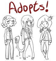 Adoptables!!! C L O S E D by MissPomp