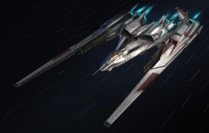 Starfighter Zero by MeckanicalMind