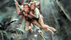 Romancing The Stone 3-D conversion by MVRamsey