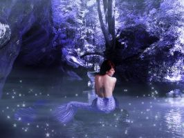 Mermaid Dreaming by Pennes-from-Heaven